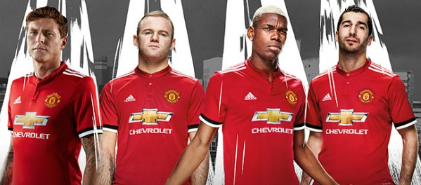 28ffc3bbc New Manchester United Home Shirt 2017-2018 by Adidas