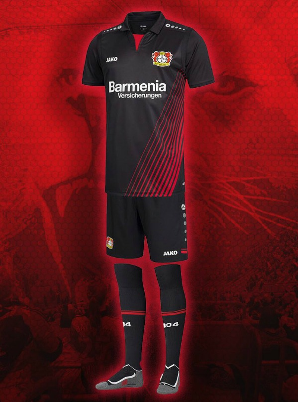 JAKO Bayer 04 Leverkusen Short Home 2020//2021
