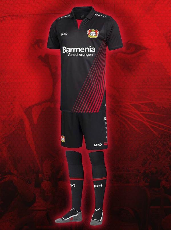 New Bayer Leverkusen Jako Jersey 2017 2018