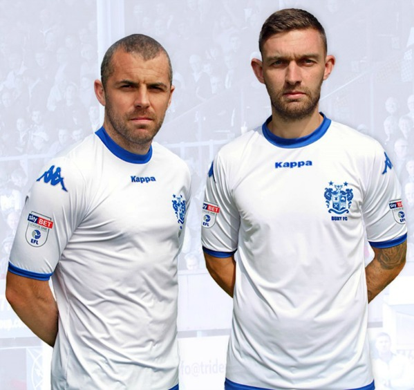 New Bury FC Kappa Kit 2017 18