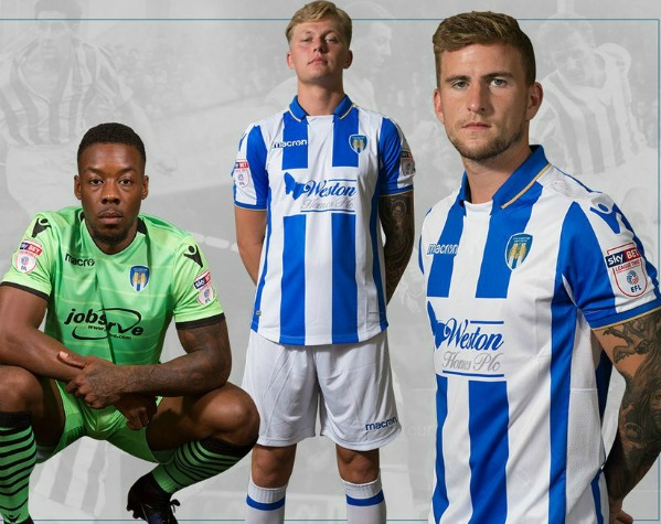 New Colchester United Kit 2017 18 Macron