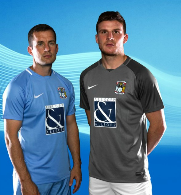 New Coventry City Kits 2017 18