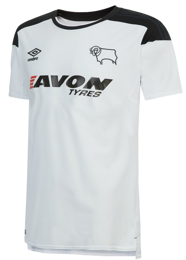 New Dcfc Kit 2017 18 Avon Tyres Replace Just Eat As Derby