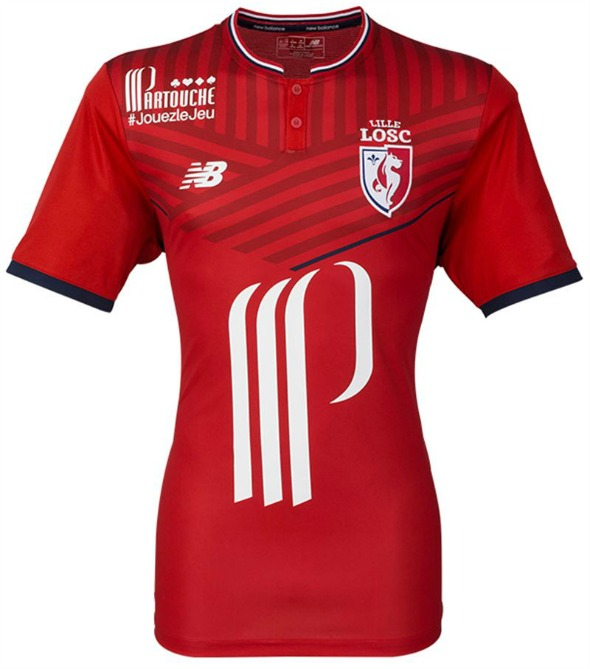 New Lille Jerseys 2017-2018  cf6535ded