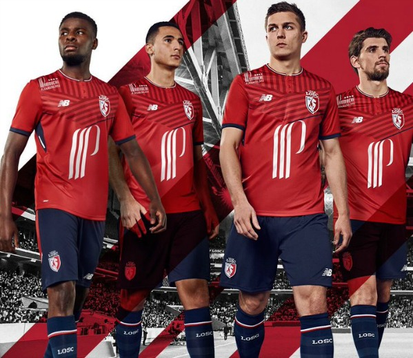 New Lille Home Kit 17 18
