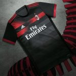 Black Milan Shirt 17-18 | New AC Milan Third Jersey 2017-2018