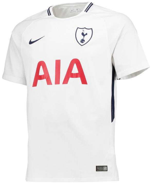 sale retailer ea987 79c9f New Tottenham Nike Kit 2017-18 | THFC Home & Away Shirts 17 ...