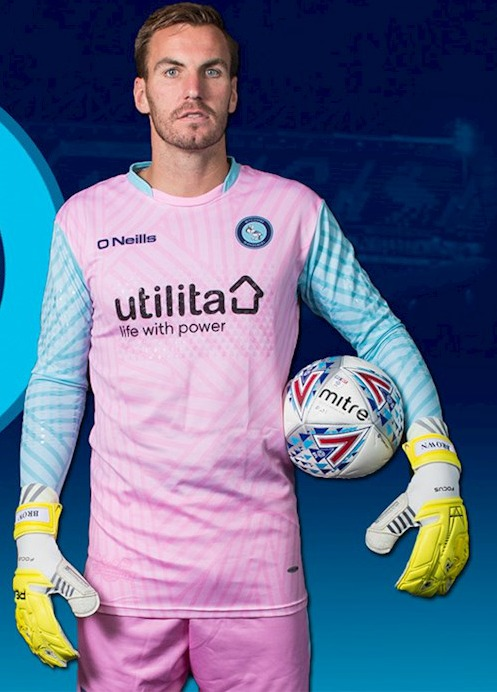 New Wycombe Wanderers Goalkeeper Kits 2017 18