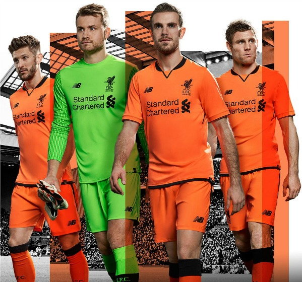 Orange Liverpool Kit 2017 2018