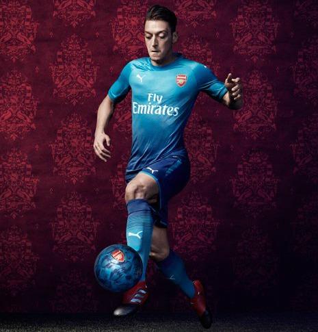 0cfad4957 Blue Arsenal Shirt 2017-2018