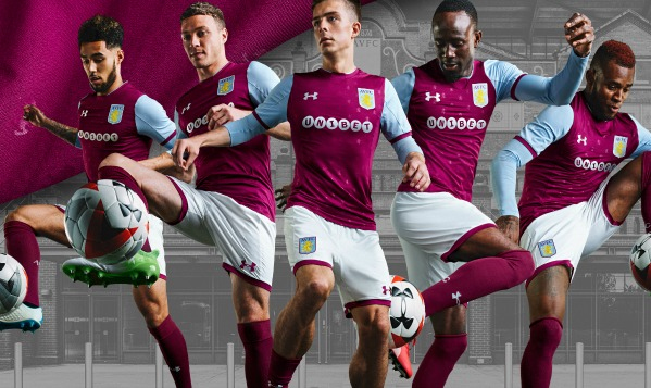 ac88f6d8 New AVFC Kits 2017-2018 | Aston Villa Under Armour Home & Away Shirts 17-18