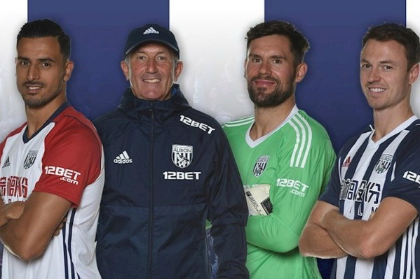12Bet West Brom Sleeve Sponsor
