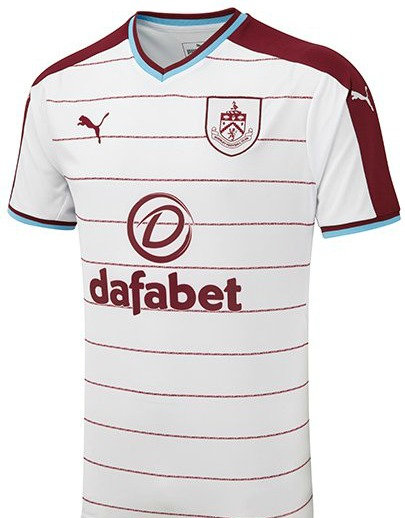 Burnley FC Away Kit 17 18
