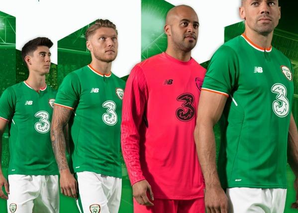 New Balance Ireland Soccer Jersey 2017 2018