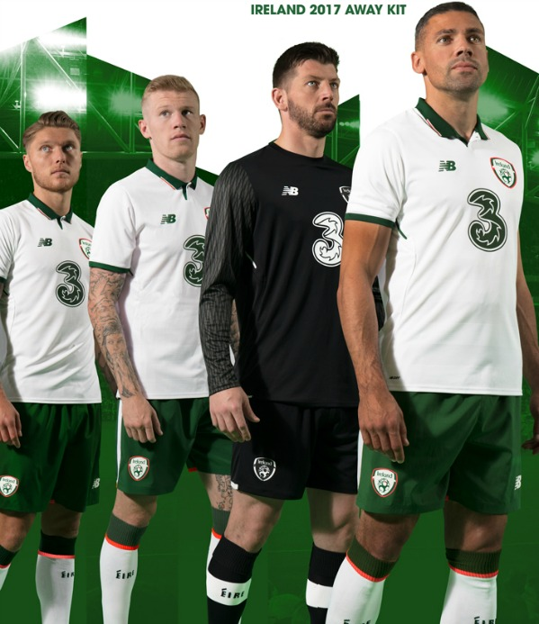 New Ireland Away Football Kit 2017 18