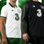 New Ireland Away Football Kit 2017-18 | White Irish Alternate Soccer Jersey 17-18 by NB