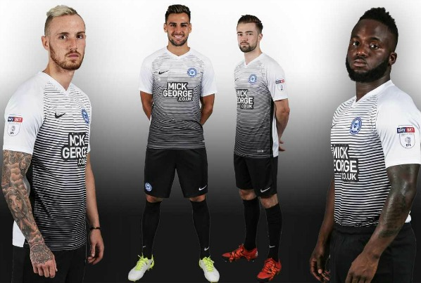 New Posh FC Away Shirt 2017 2018