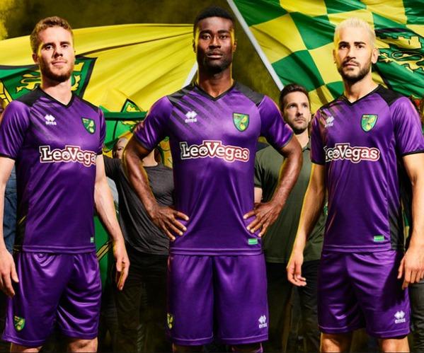 New Norwich Third Shirt 17-18  e0118bdf1
