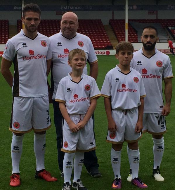 Walsall FC Third Shirt 2017 2018