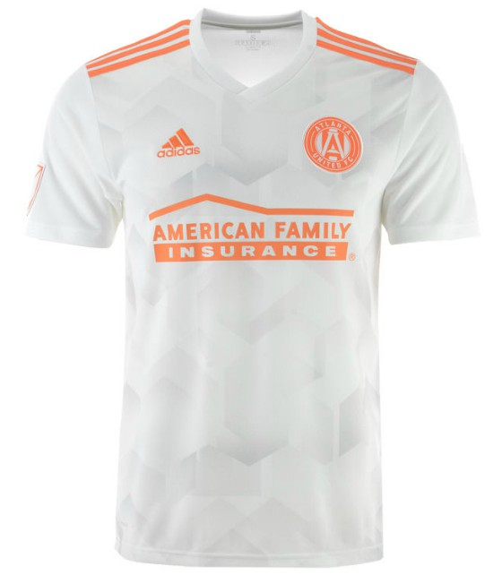 Atlanta United New Away Kit Peach 2018