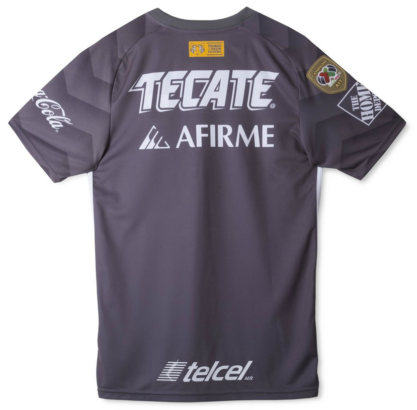 Back of Tigres Third Jersey 2018
