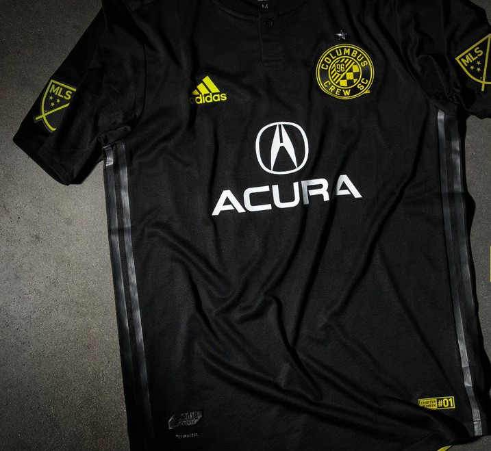 Columbus Crew new Black Jersey 2018