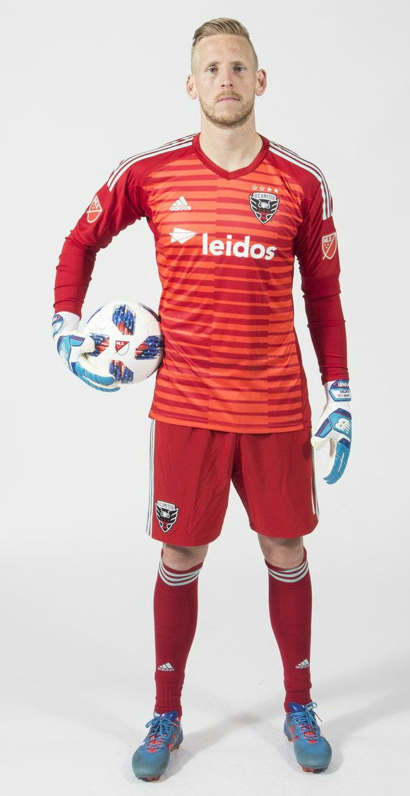 DC United Goalkeeper Jersey 2018