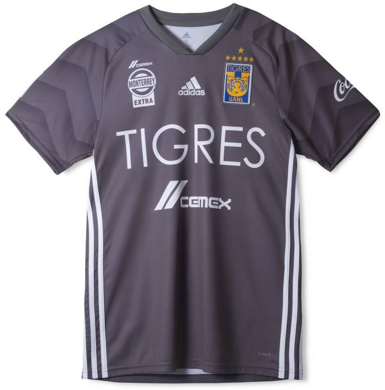Grey Tigres Soccer Jersey 2018