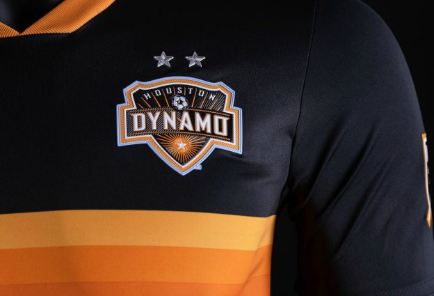 Houston Dynamo Kit 2018 Closeup