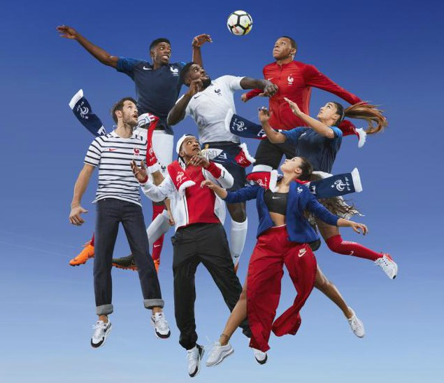 Les Bleus World Cup Uniform 2018