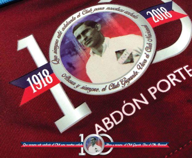 Nacional Special Shirt 2018 Abdon Porte 100th Anniversary
