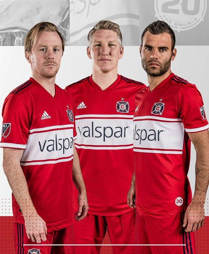 super popular f7a01 ce342 New Chicago Fire Uniform 2018- Chicago Fire Home Jersey 2018 ...