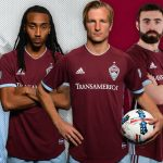 New Colorado Rapids Uniform 2018- Adidas Rapids MLS Primary Home Jersey 2018