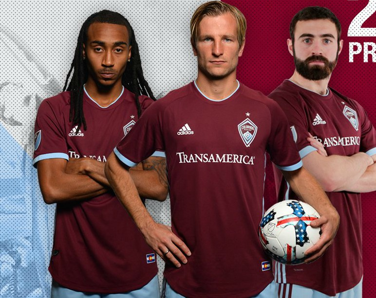 New Colorado Rapids Uniform 2018