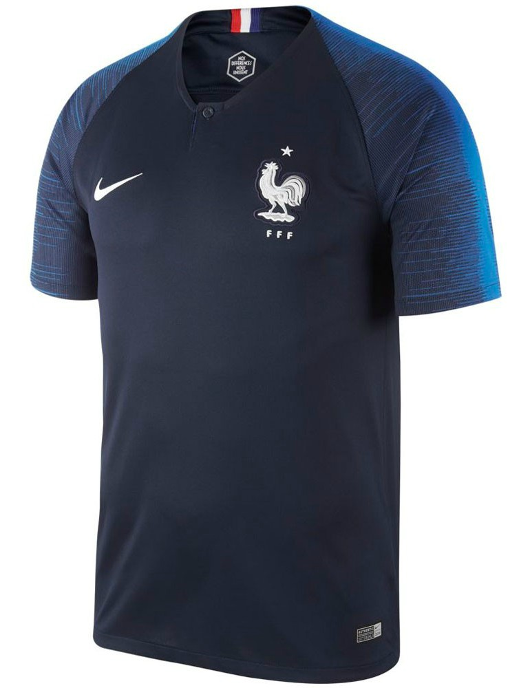 New France Home World Cup Jersey 2018