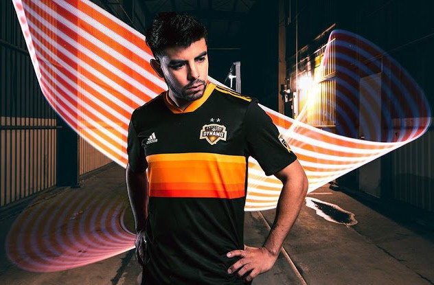 New Houston Dynamo Away Uniform 2018