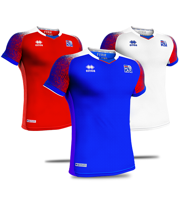 New Iceland World Cup Kit 2018 Errea