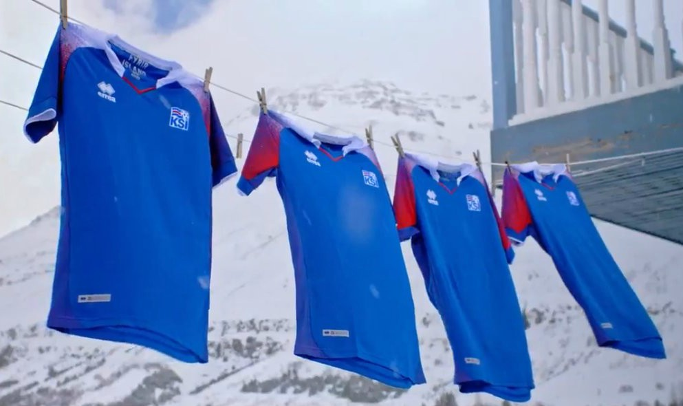 New Iceland World Cup Shirt 2018