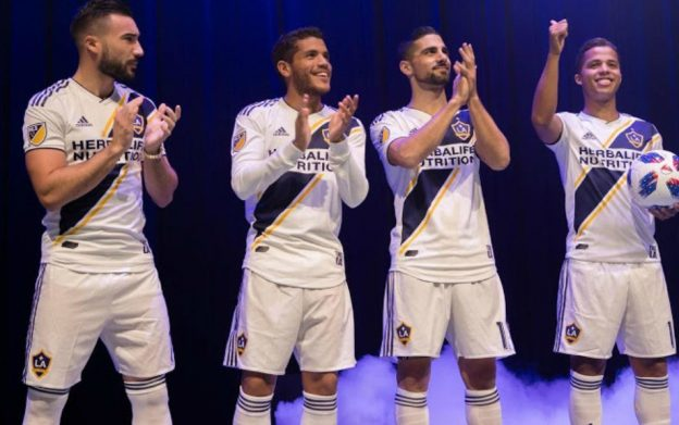 New LA Galaxy Soccer Jersey 2018