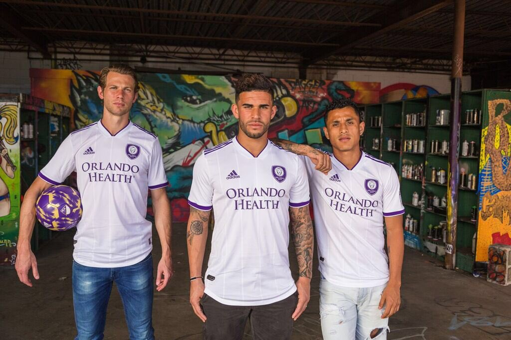 New Orlando City Away Uniform 2018