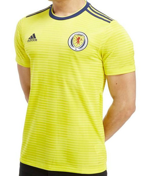 New Scotland Away Football Strip 2018