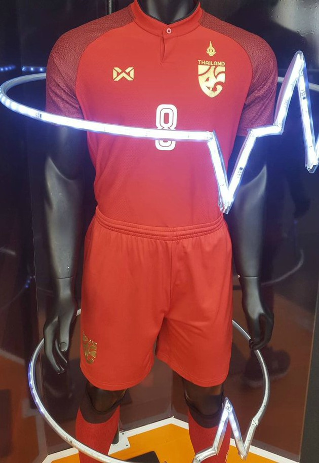 New Thailand Away Football Strip 2018