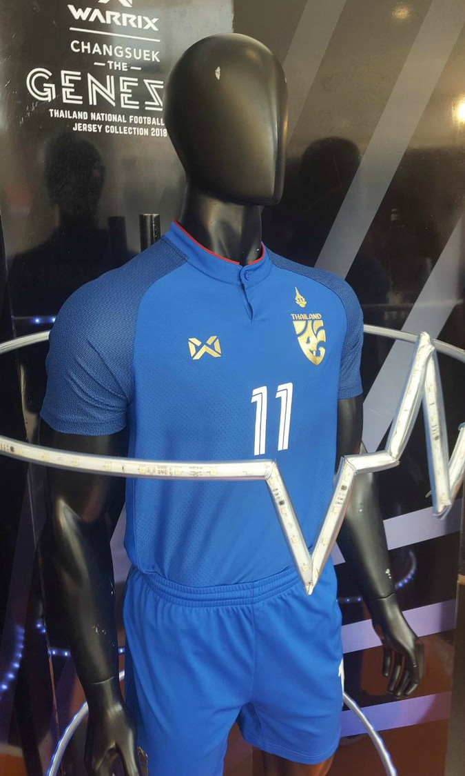 New Thailand Football Shirt 2018 19