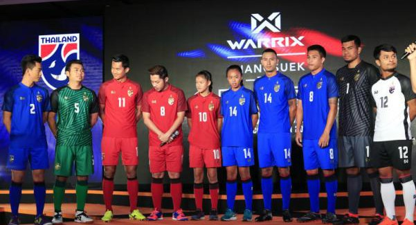 New Warrix Thailand Jersey 2018