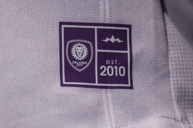 Orlando City away Shirt 18 19 Closeup