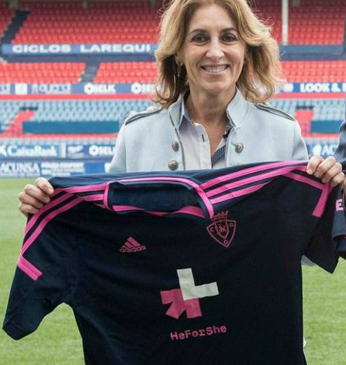 Osasuna He for She Shirt 2018 vs Cadiz
