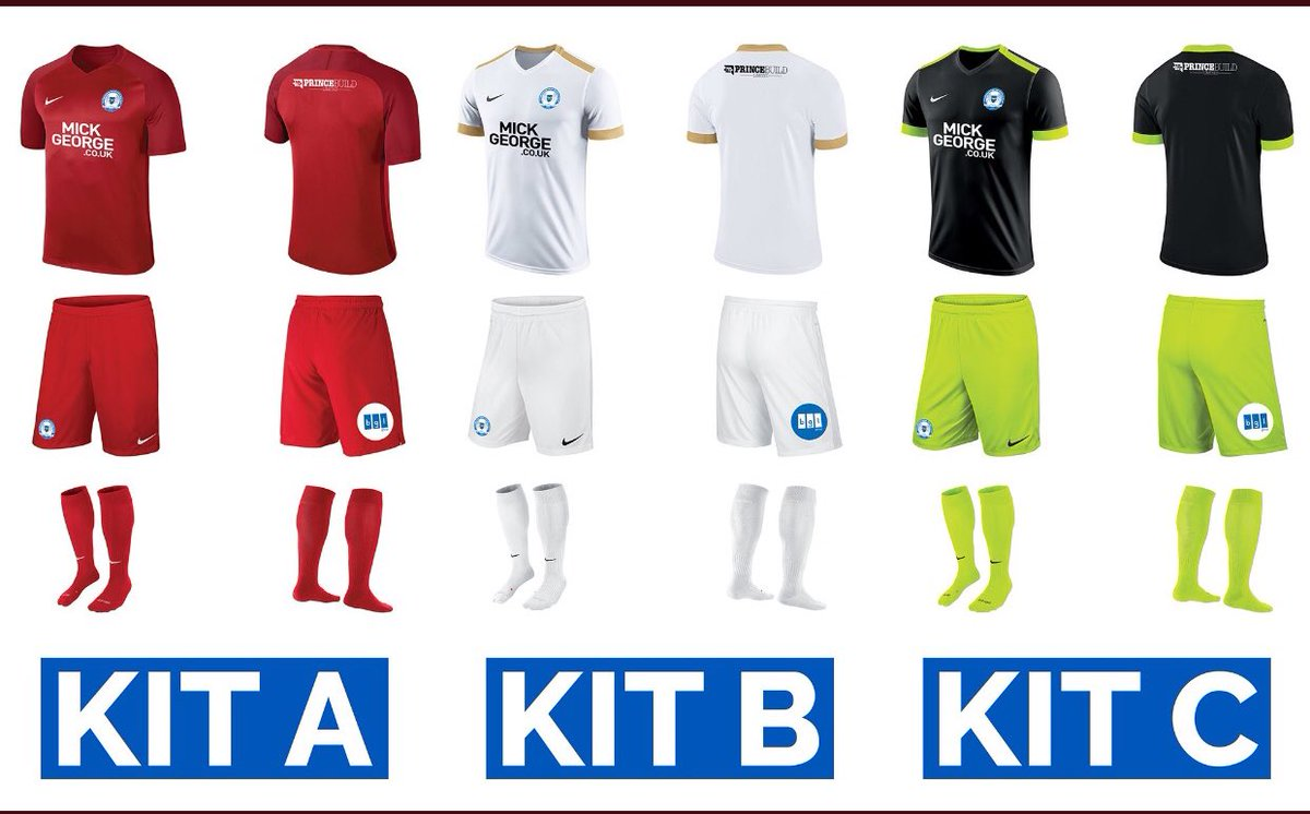 Peterborough United Away Kit 2018 19 Vote Options