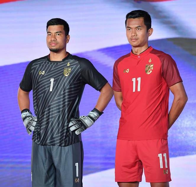 673546abe New Thailand Soccer Jersey 2018-19