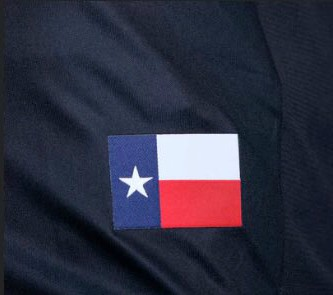 Texas Flag on Houston Dynamo Kit 2018