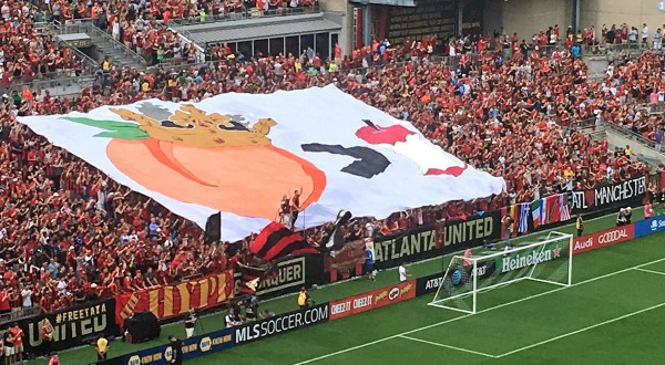 Tifo Atlanta United NYCFC